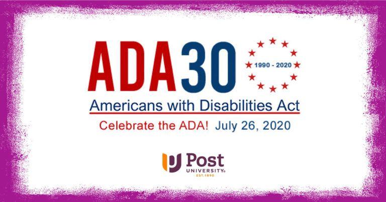 ADA 30th Anniversary logo