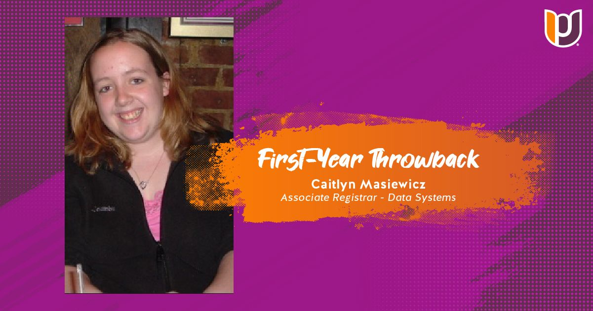 First Year Throwback – Caitlyn Masiewicz