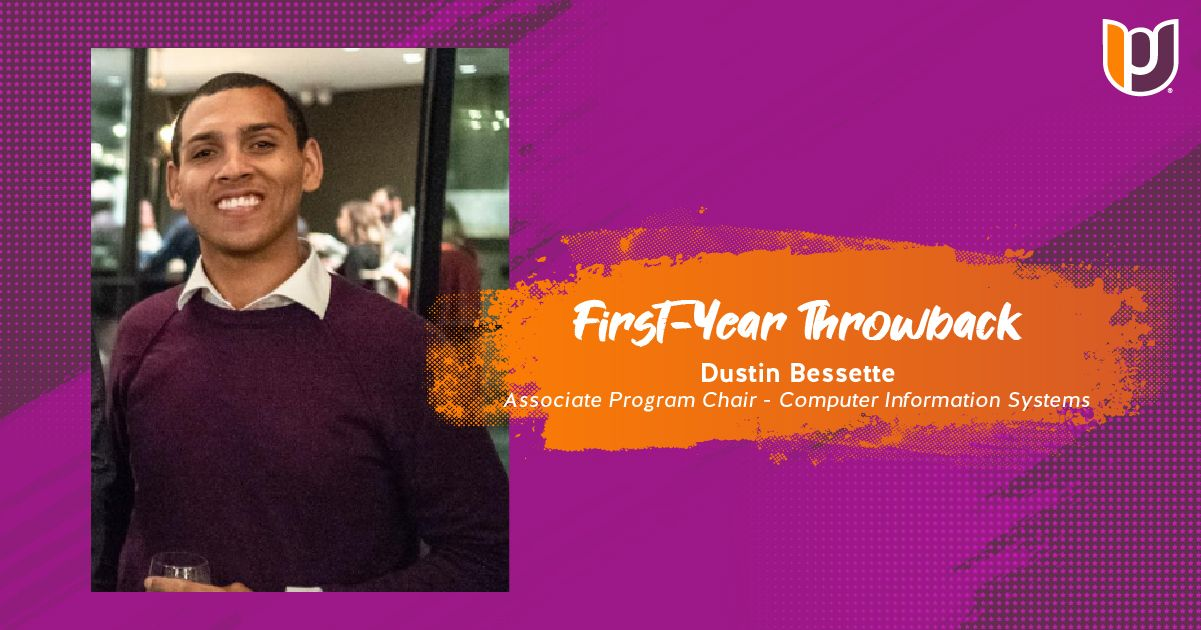 First Year Throwback – Dustin Bessette