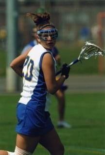 kayte mills playing lacrosse