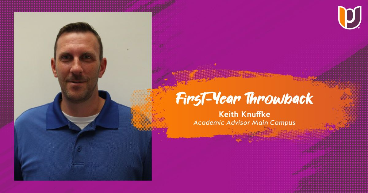 First Year Throwback – Keith Knuffke