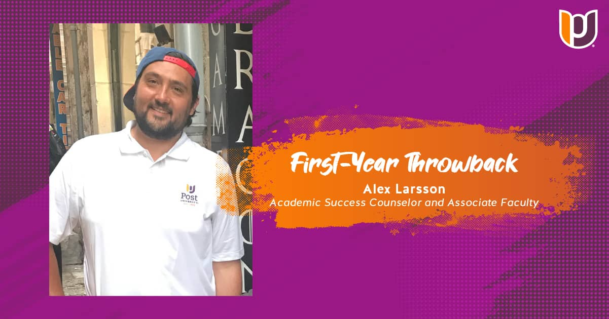 First Year Throwback – Alex Larsson