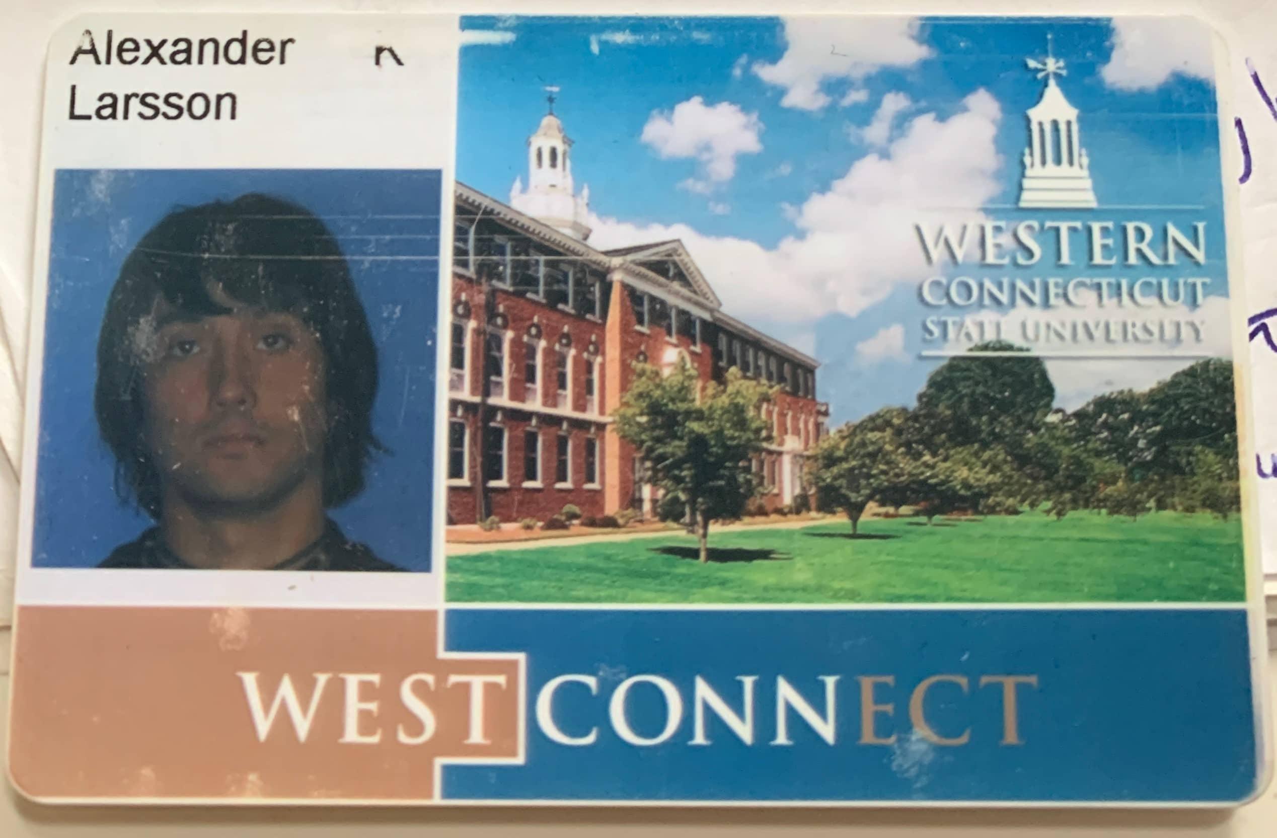 alex larsson's college id photo