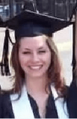 gina in graduation cap and gown