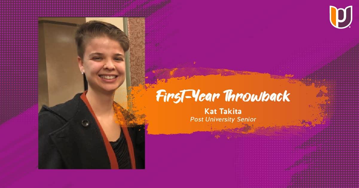 First Year Throwback – Kat Takita