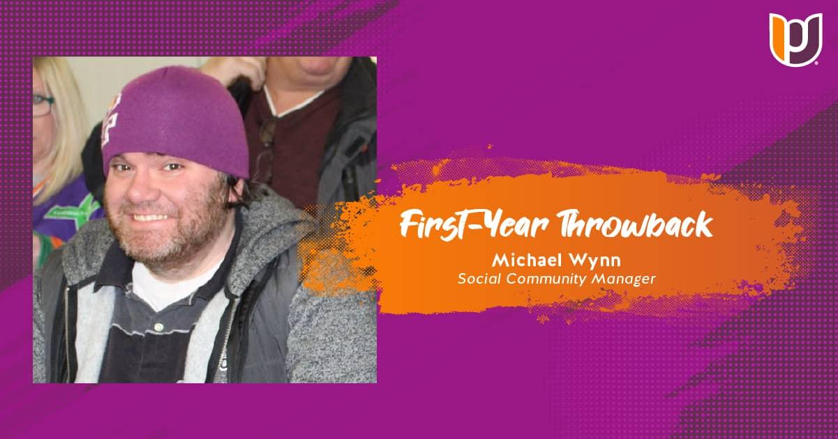 First Year Throwback – Michael Wynn