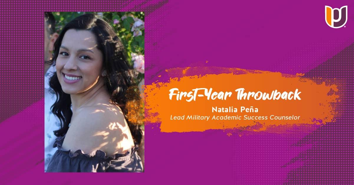 First Year Throwback – Natalia Pena