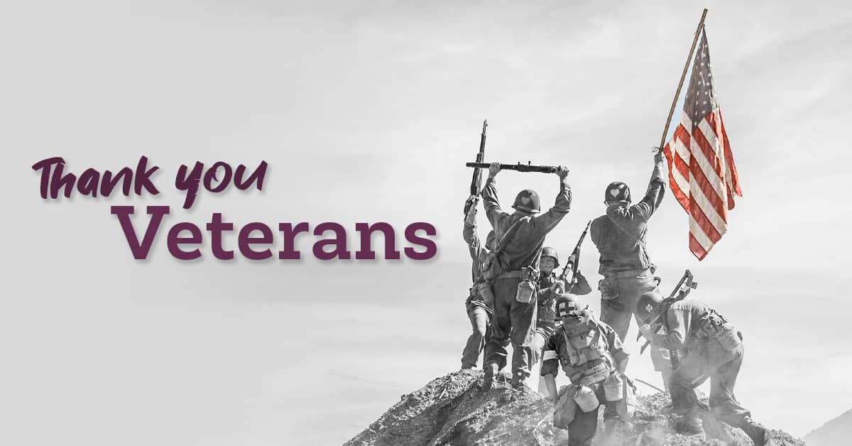 Veteran's Day 2020 – Post Is Proud of Long History with Veterans