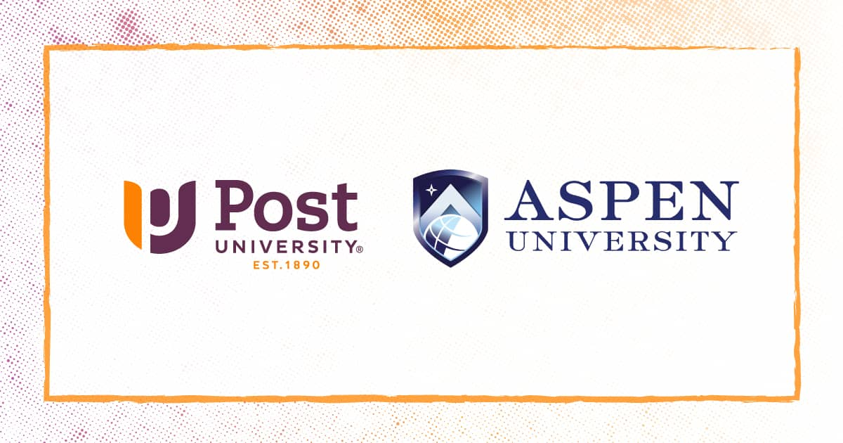 Post University and Aspen University Form Doctorate Pathway