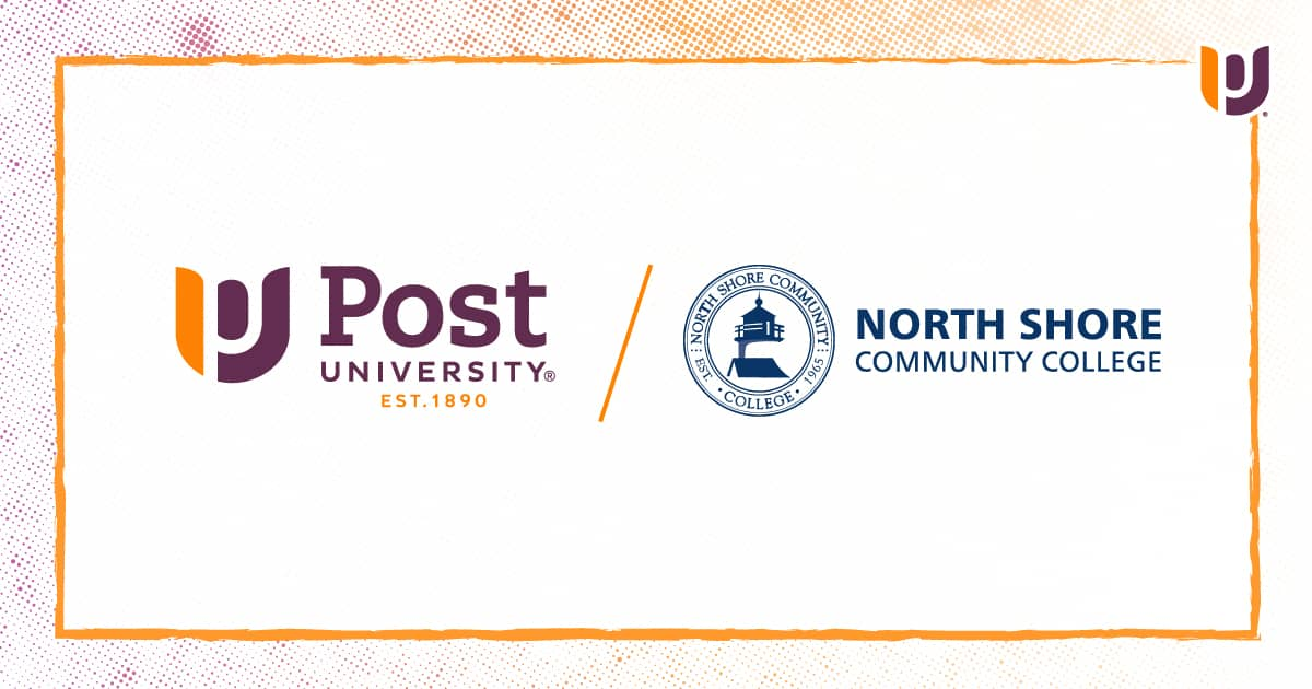 Post University Adds New Articulation Agreement with Massachusetts' North Shore Community College