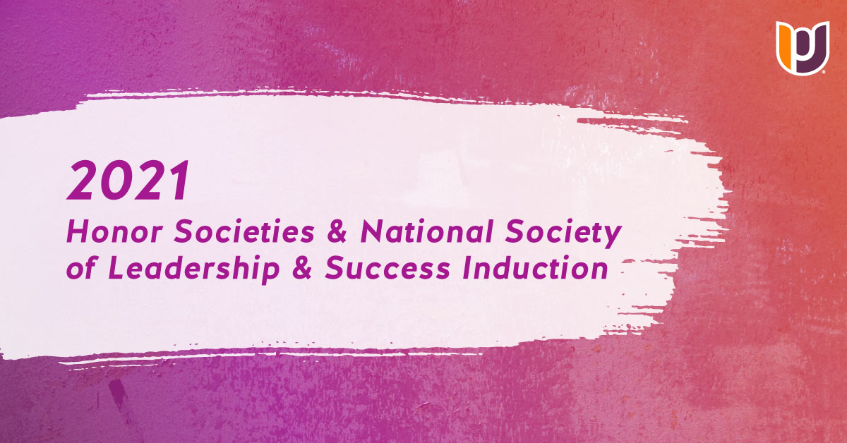 2021 Honor Societies Induction