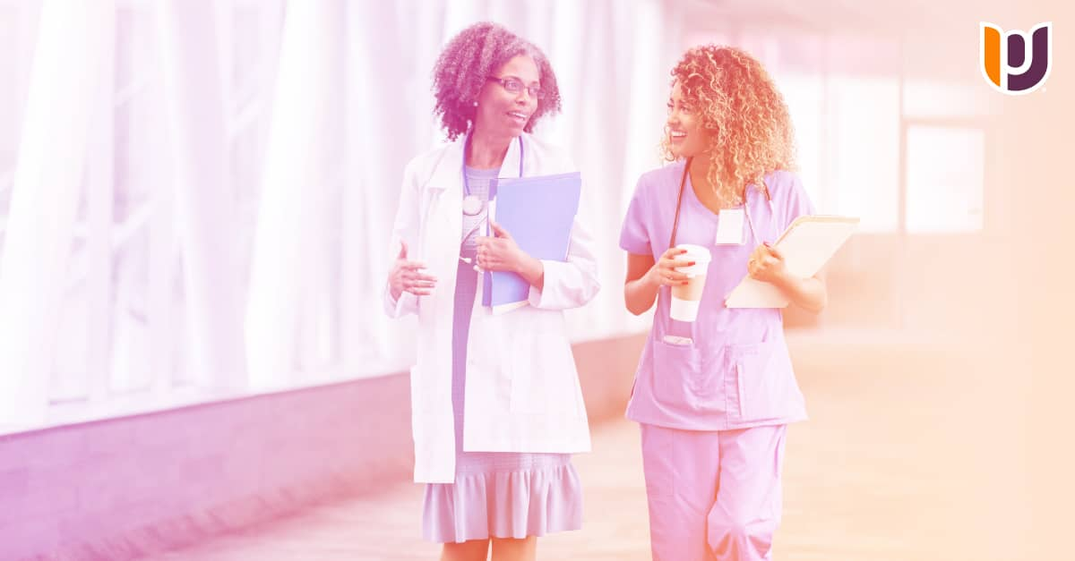 nurses in scrubs