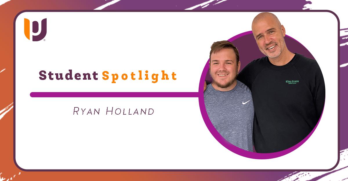 Student Spotlight: Ryan Holland, Business Administration Major